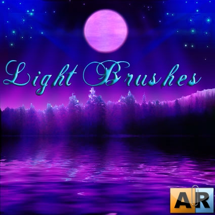 Кисти- Лучи Света/Light brushes