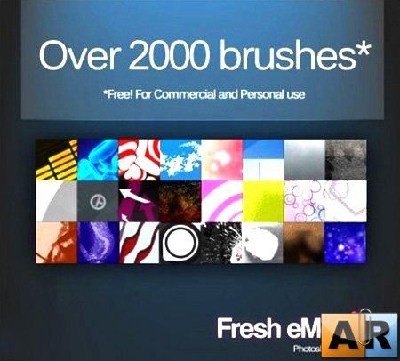 Fresh eMedia Monster Brush Set