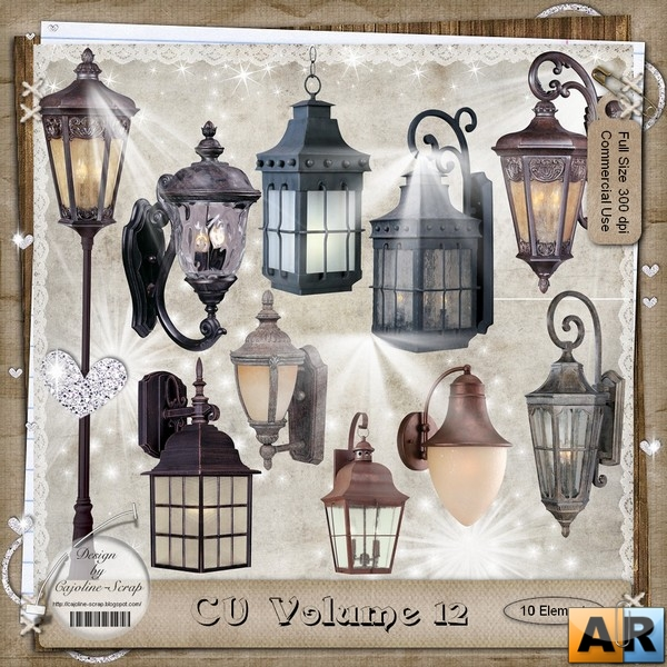 Cajoline - Commercial Use Volume 12 - Embellishments