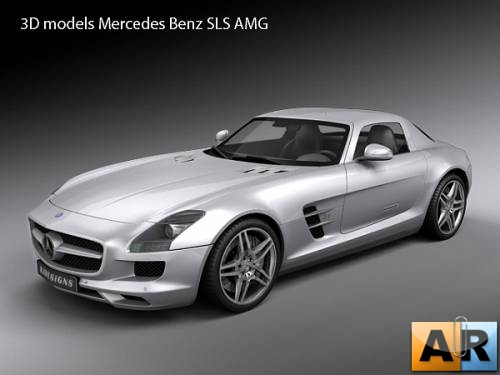 3D models Mercedes Benz SLS AMG