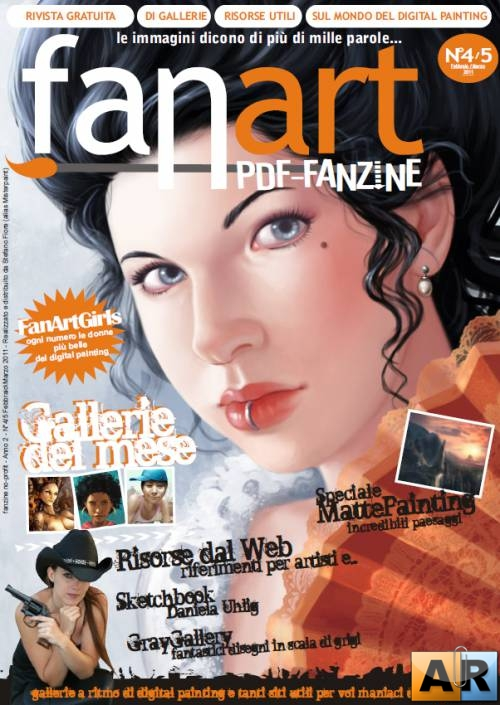 Fanart Magazine - Issue 4-5/2011