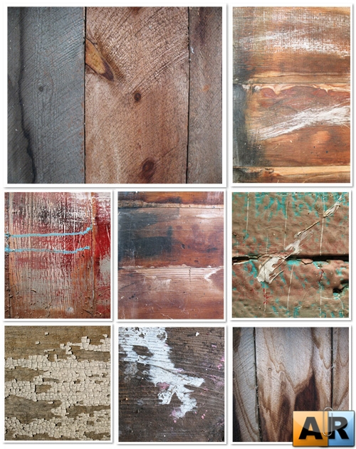 Dirty Wood Textures - HQ клипарт