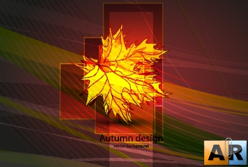 Autumn Leaf Design Backgrounds