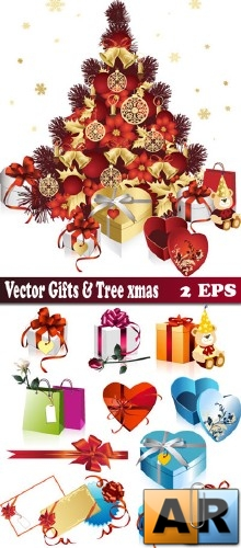 Vector gifts items