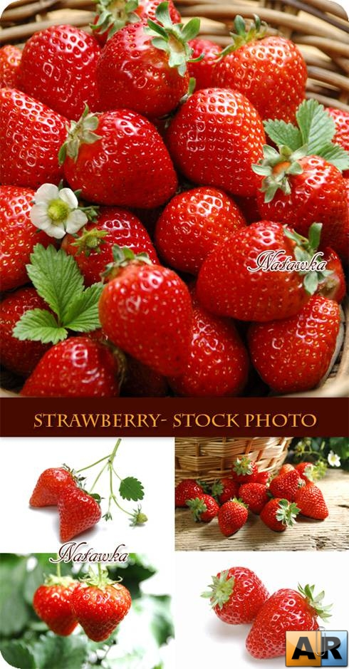 Клубника. Strawberry - Stock Photo 3