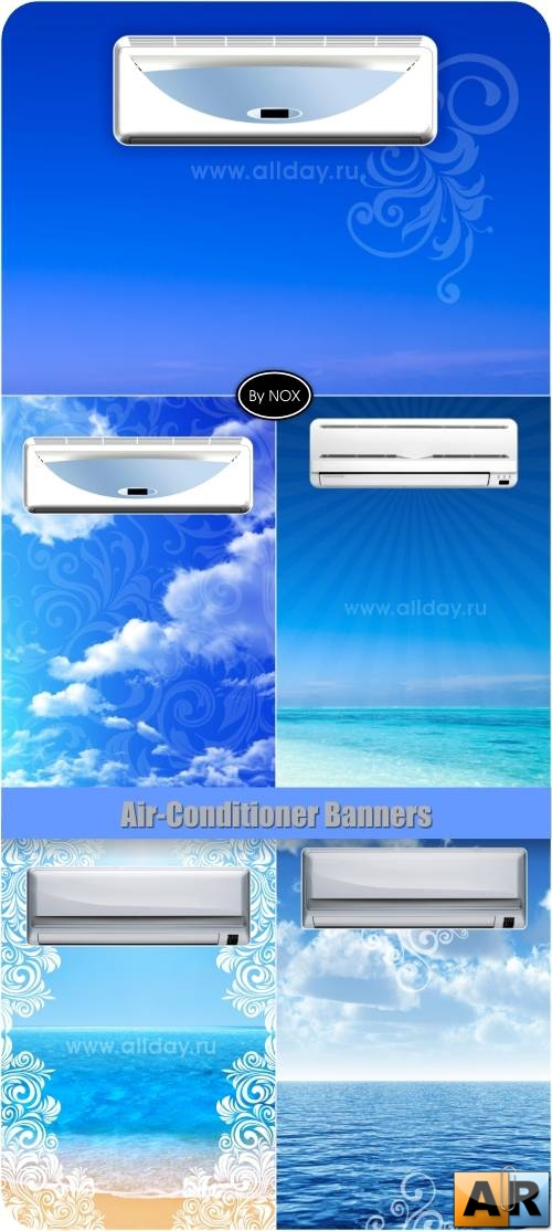 Air-Conditioner Banners - Кондиционер