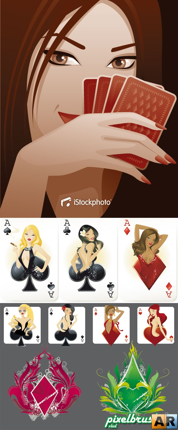 Playing Cards (Part 2) - Карты (Вектор)