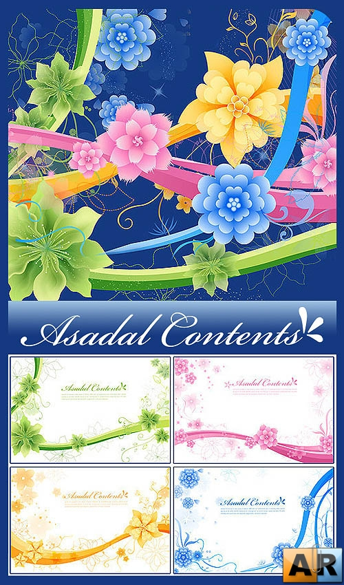 Asadal Contents Flower