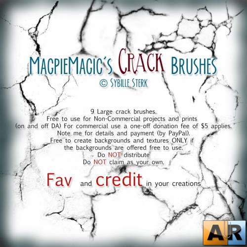 Crack Brush Set for PS