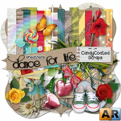 Candy Coated Scraps – Dance for life