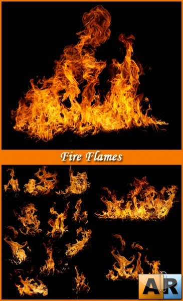 Fire Flames - Stock Photos