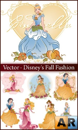 Vector - Disney's Fall Fashion
