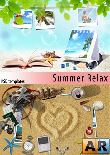 Лето, отдых | Summer Relax (2 PSD templates)