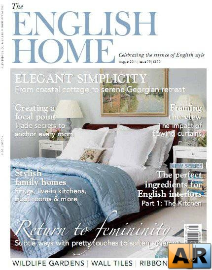 The English Home Magazine August 2011
