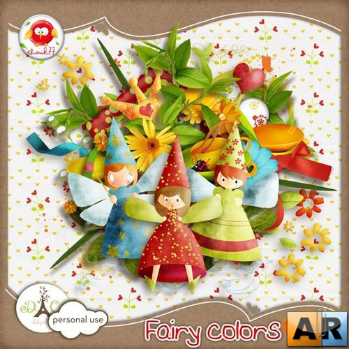Scrap kit  Fairy Colors