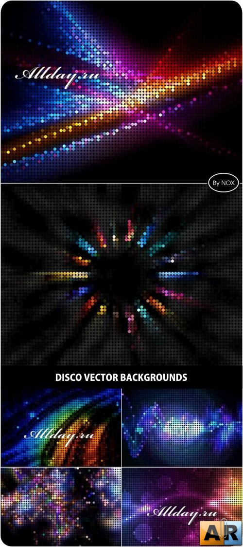 Disco Vector Backgrounds