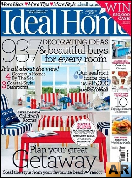 Ideal Home - August 2011 (UK)