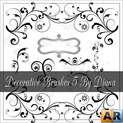 Декоративные кисти / Decorative Brushes