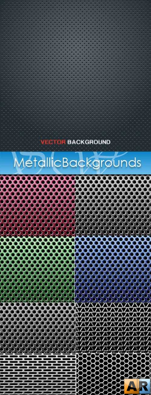 METALLIC BACKGROUNDS