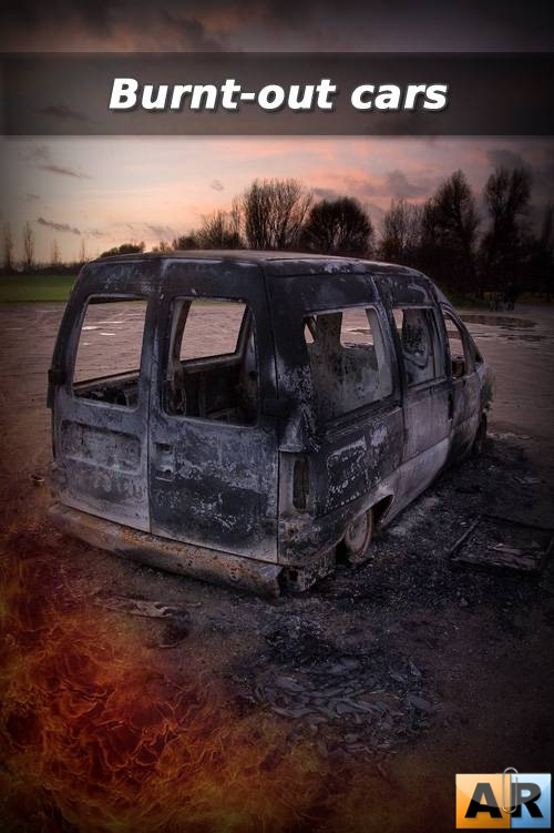 Burnt-out cars part 1