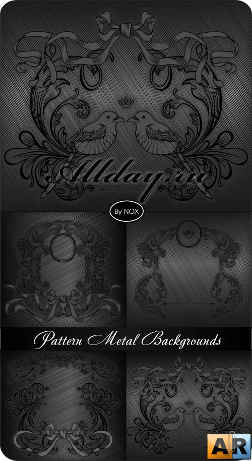 Pattern Metal Vector Backgrounds