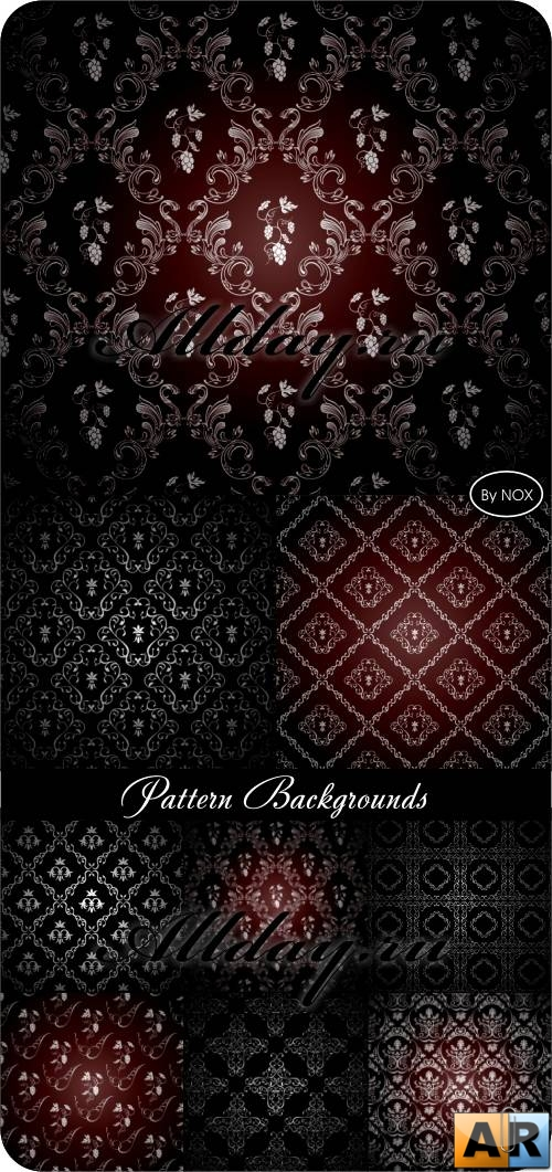 Pattern Backgrounds - Узоры, вектор, фон