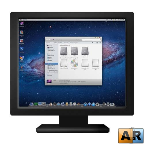 Mac Lion Skin Pack 6.0 for Win 7 ML/Rus