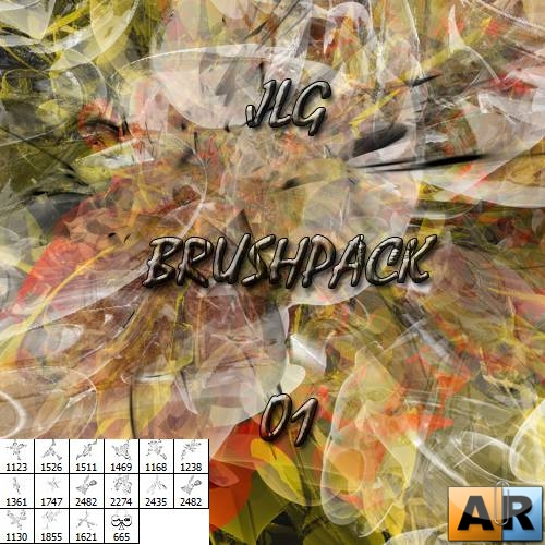 JLG Abstract Brush Pack 01