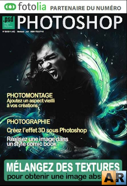psd Photoshop №6 (juin 2011 France)