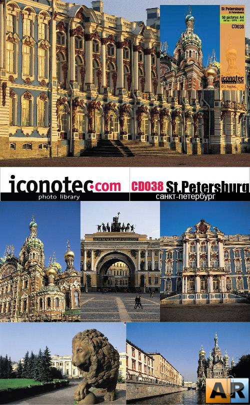 Iconotec - CD038 St.Petersburg - Санкт-Петербург