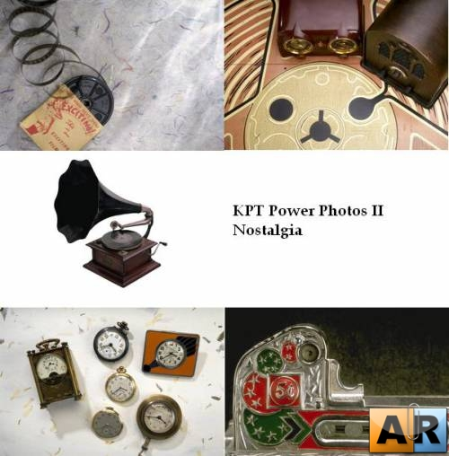 Клипарт Ностальгия / Corel KPT Power Photos II: Nostalgia