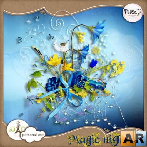 Scrap kit   Magic Night