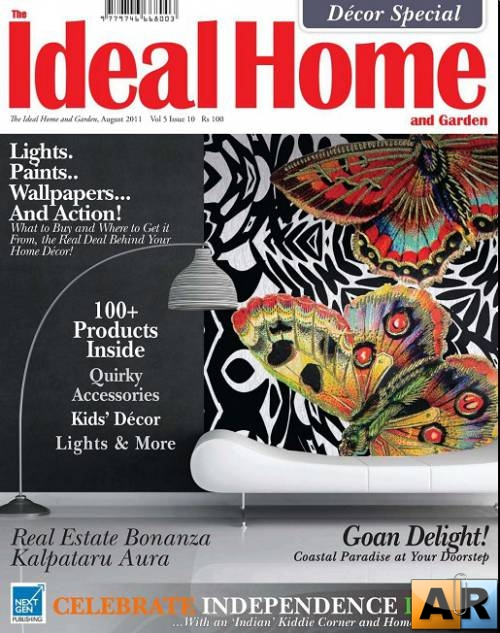 The Ideal Home and Garden №8 (August 2011 India)