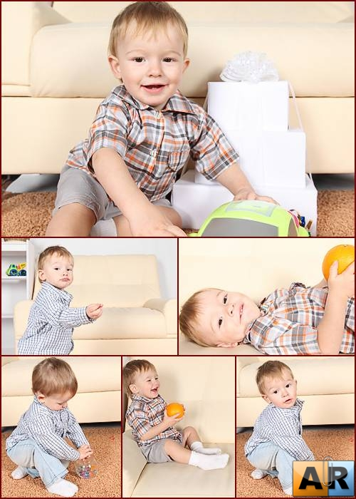 Stock Photos -  Baby Boy