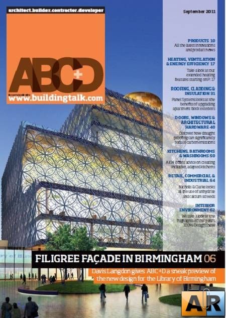 Architect, Builder, Contractor & Developer - September 2011