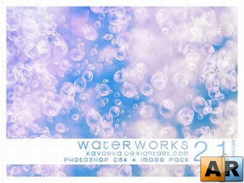 21 Waterworks Brushes For Photoshop