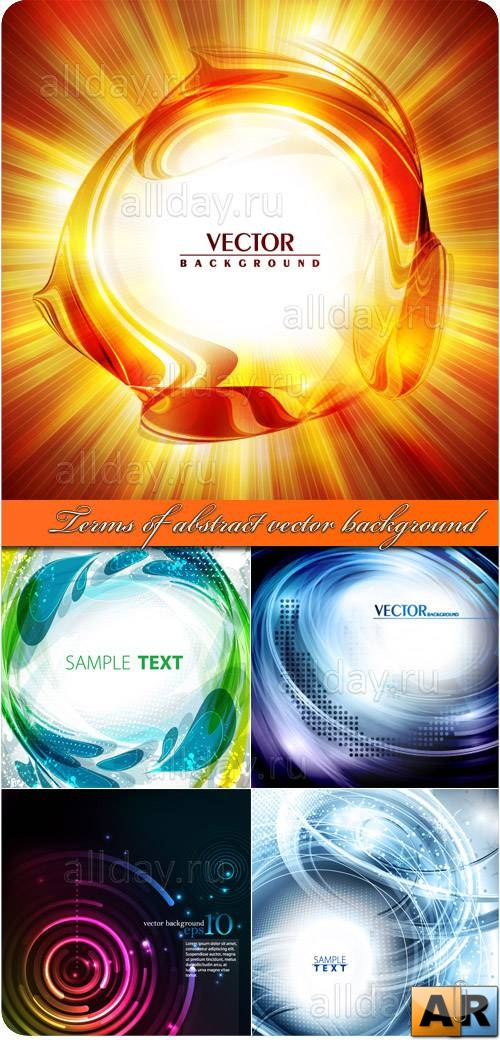 Terms of abstract vector background