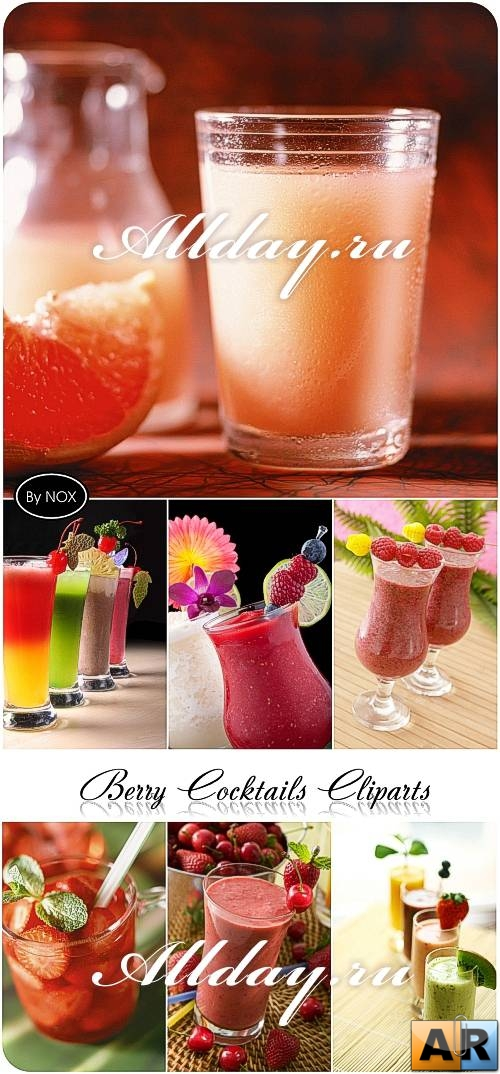 Berry Cocktails Cliparts