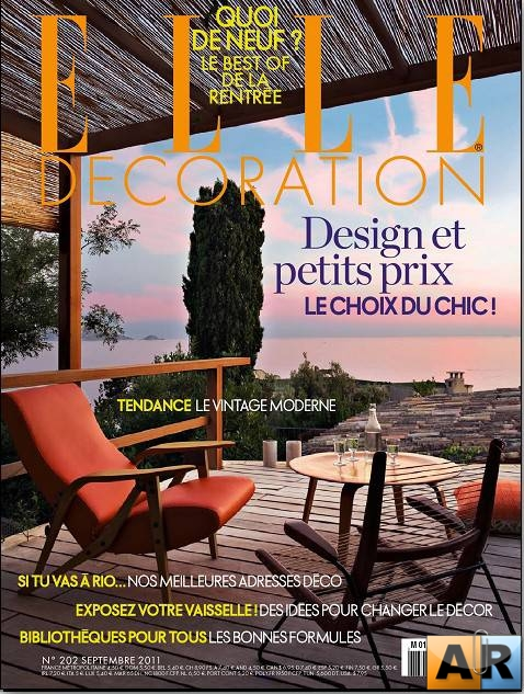 Elle Decoration №202 (Septembre 2011 France)
