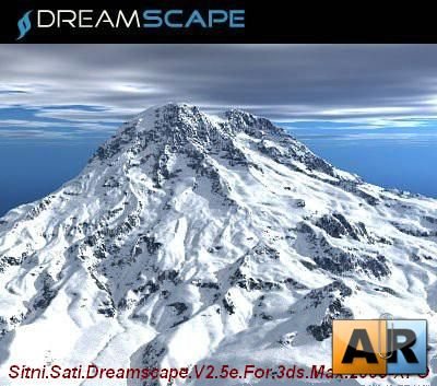 Sitni Sati Dreamscape V2.5e For 3ds Max 2009