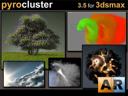 Cebas Pyrocluster V3.5 For 3ds max 2009