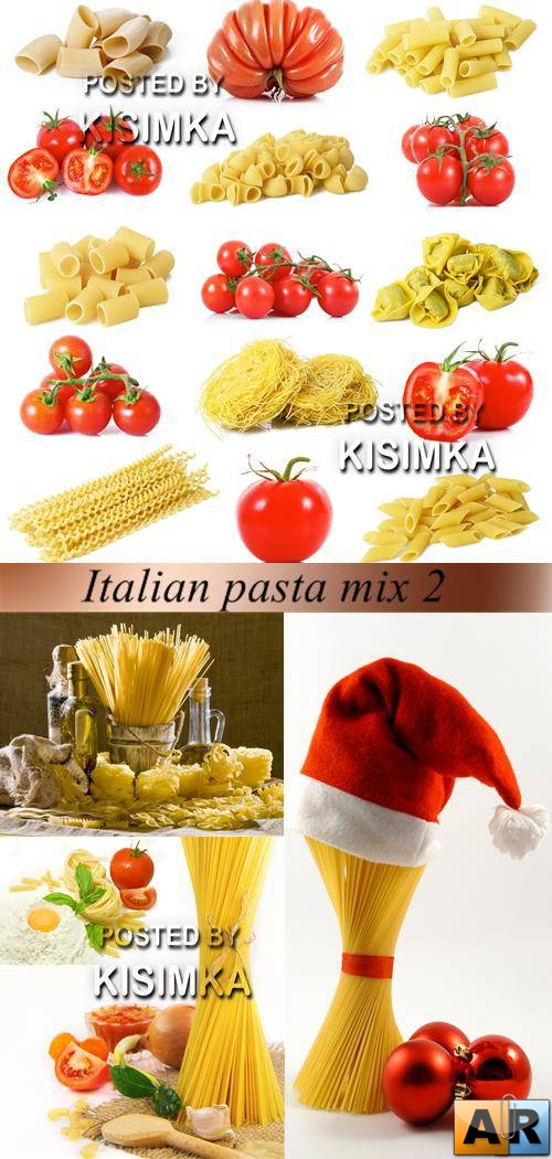 Stock Photo: Italian pasta mix