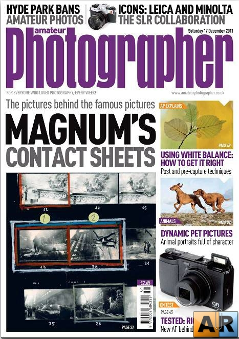 Amateur Photographer - 17 December 2011