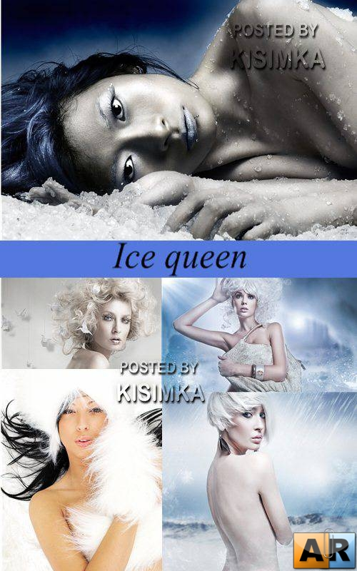 Stock Photo: Ice queen