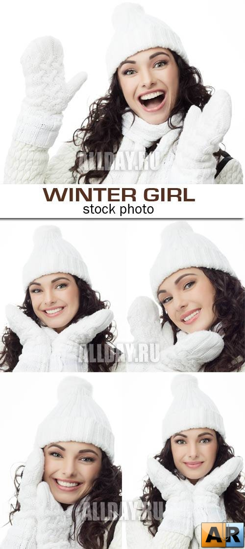 Winter girl 5