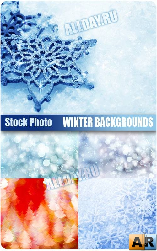 Зимние фоны | Winter Backgrounds - UHQ Stock Photo