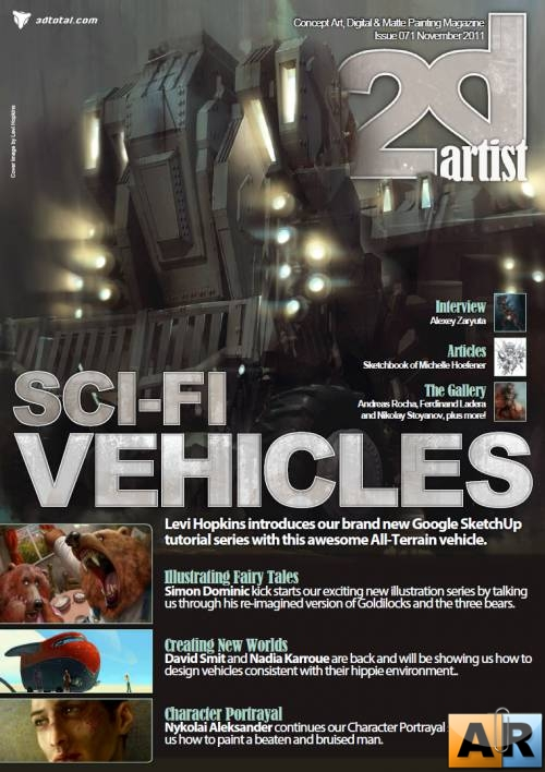 2DArtist: Issue 071 - November 2011