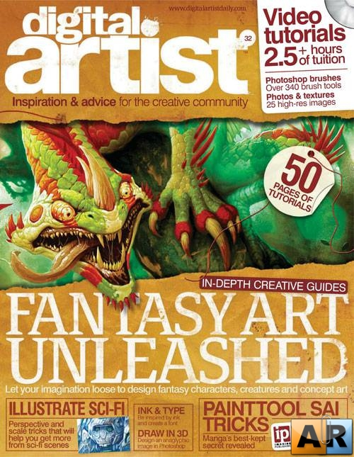 Digital Artist Issue 32 2012
