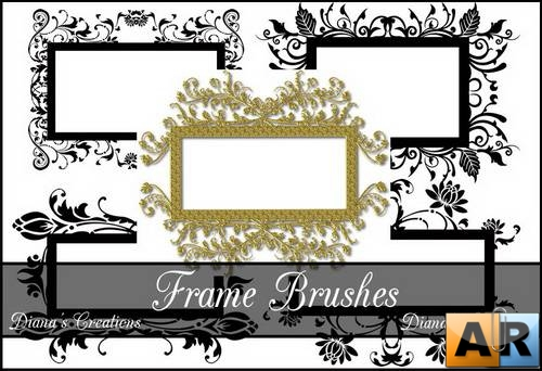 Decor Frame Brushes 2 by Diana Creations  Рамки