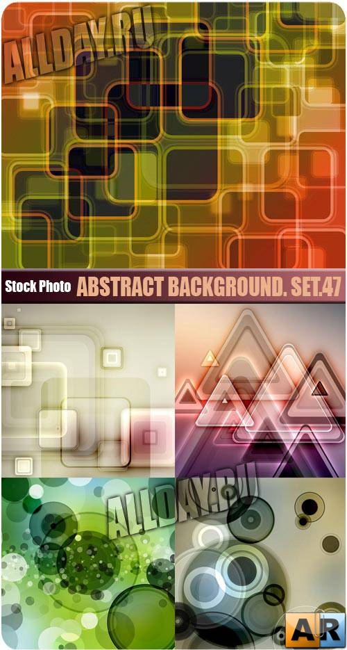����������� ���. ���.47 | Abstract background. Set.47
